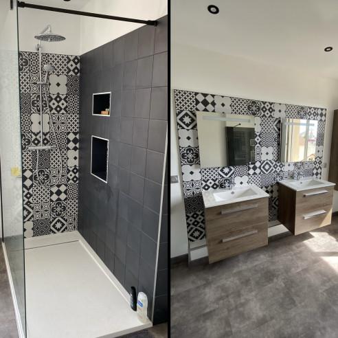 Rénovation salle de bain à Mousson MOUSSON