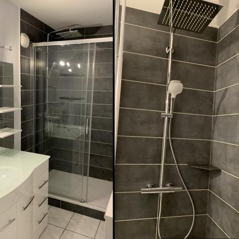 Rénovation salle de bain à st Max