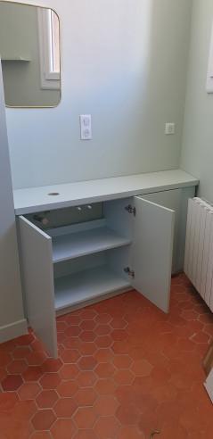 Fabrication  meuble  trois portes. Marseille