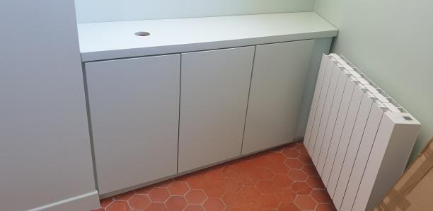 Fabrication meuble trois portes. Sur Marseille