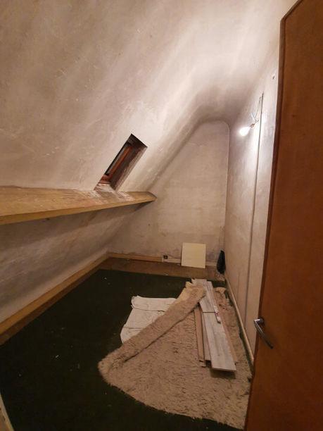 Rénovation totale d'une maison sur Sartrouville avant