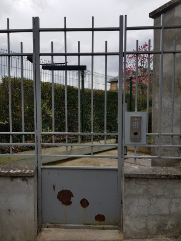 Creation d'un contrôle d'accès sur un portillon Meudon