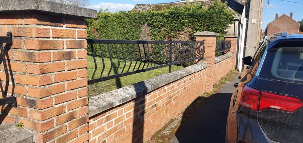 Pose de portail et palissades ONNAING