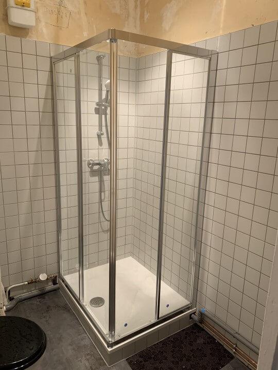 rénovation d'une douche à Laxou