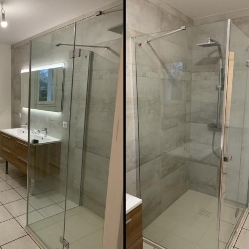 Création d'une salle de bain à Gondreville