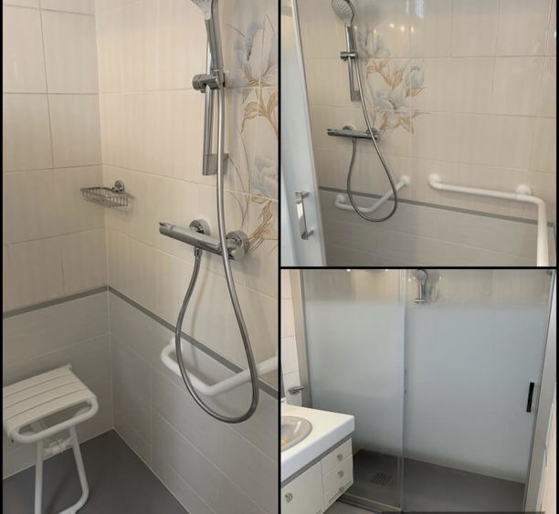 Rénovation salle de bain PMR à Villers les Nancy