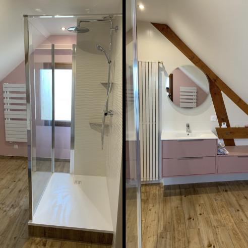Rénovation salle de bain à Ludres