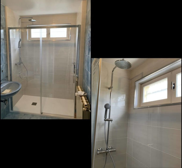 rénovation espace douche à Bouxières-aux-Dames