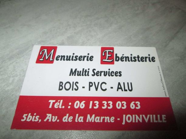 MENUISERIE JOINVILLE SERVICES