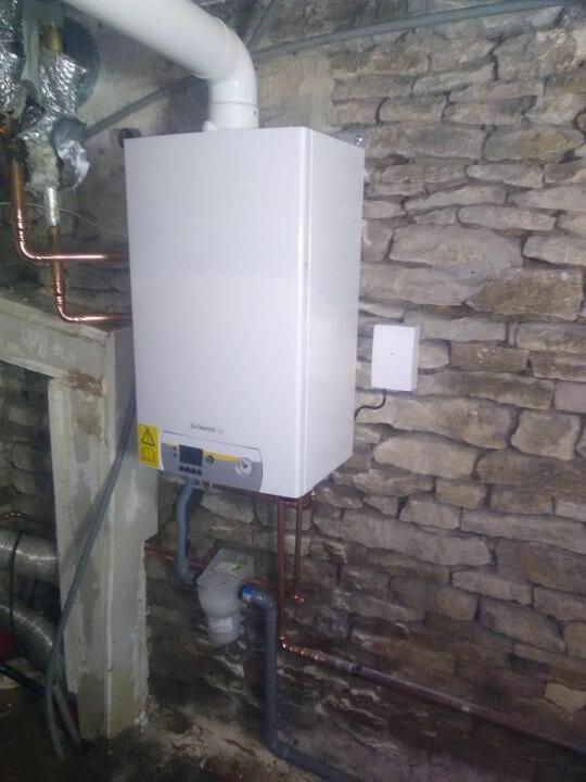 remplacement d'une chaudière condensation