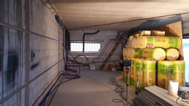 Isolation garage à Murat