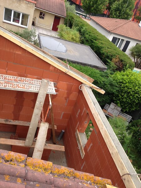 Travaux d'extension d'une maison à Pau
